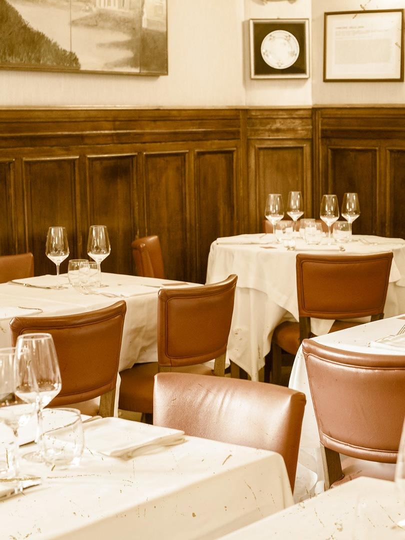 la storia del ristorante Dal Bolognese